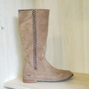 Ugg wilder tall leather boots